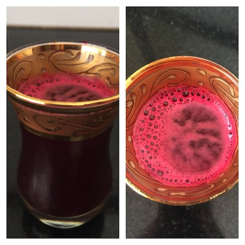 Apple , beetroot , carrot miracle drink