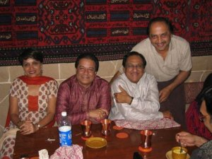 Ghulam Ali Saab and Anup Jalota