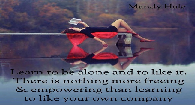 Being with yourself