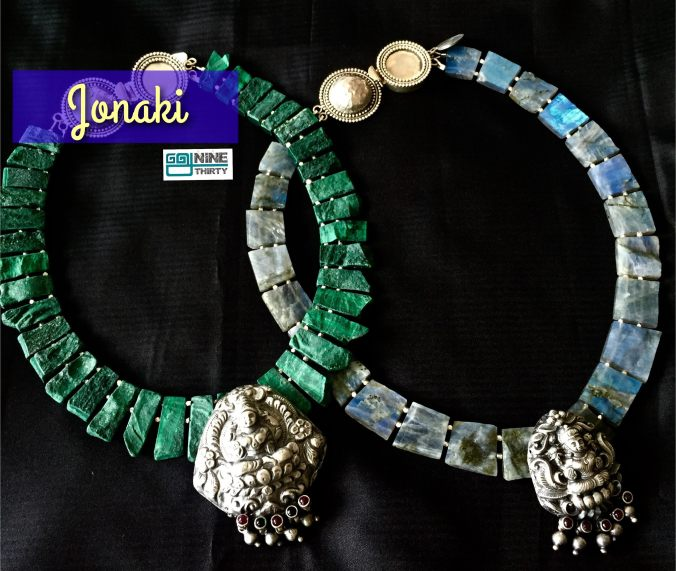 Jonaki jewelry at The Sandalwood Room
