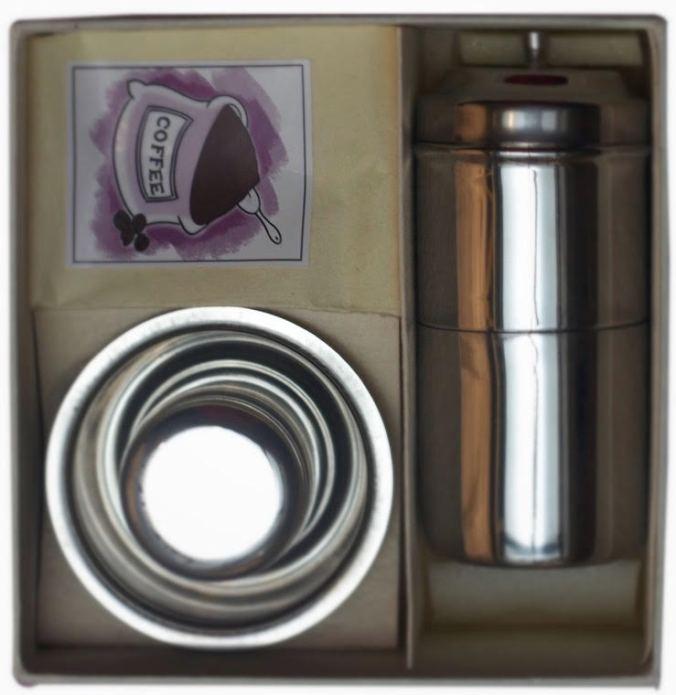 Filter coffee set The Sandalwood Room