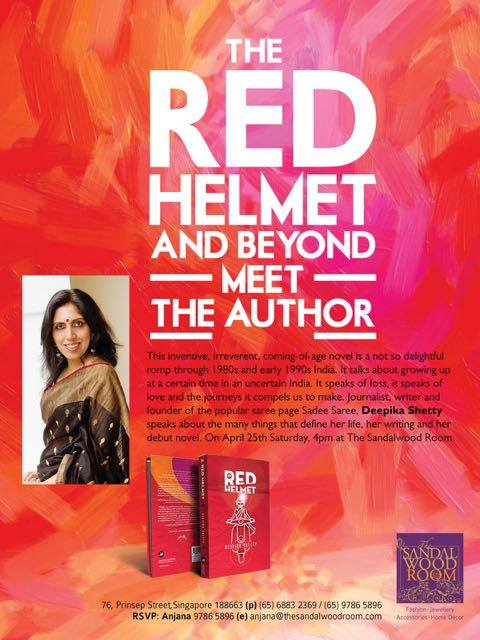 The Sandalwood Room The red helmet