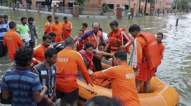 Chennai Floods NDRF