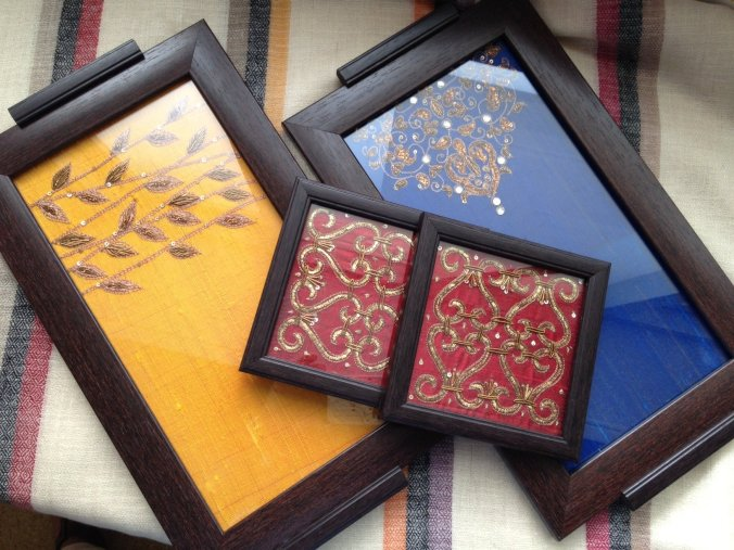 decorative trays coasters silk and zardosi the sandalwood room