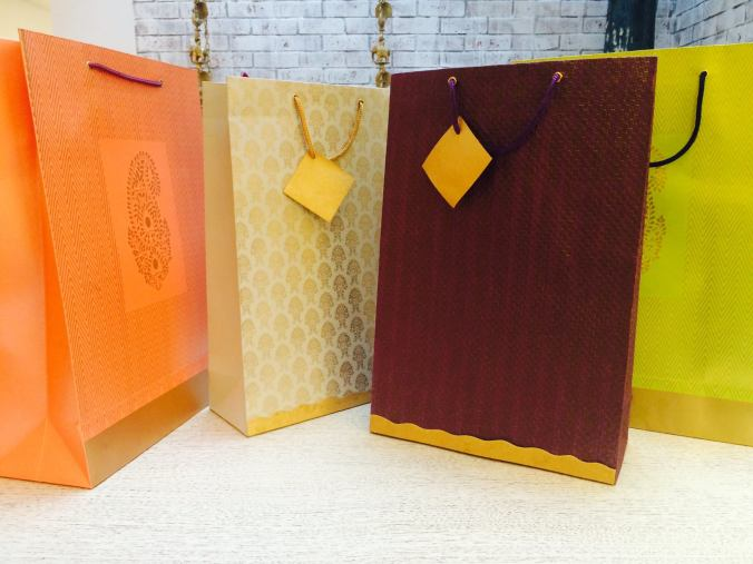 decorative gift bags, the sandalwood room