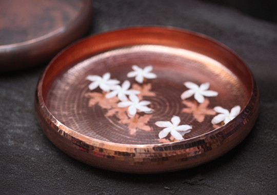 copper meditation bowl  Sandalwood Room