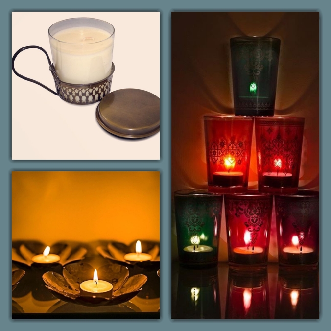 candle holders for worship the sandalwood room