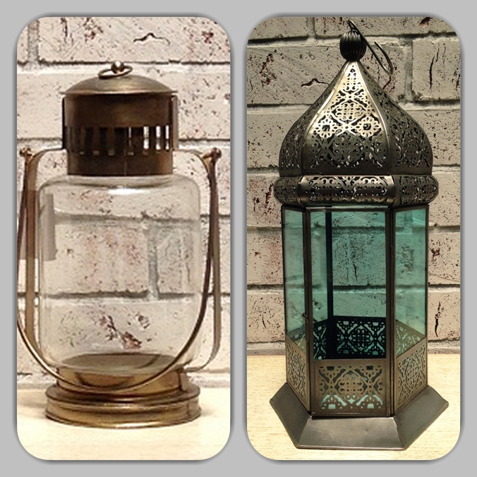 glass and iron lanterns the sandalwood room
