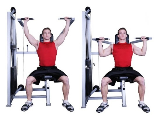 Image result for Machine Shoulder (Military) Press