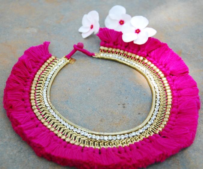 Exquisite handmade jewellery plume tatillone from Mayabazar, The Sandalwood Room