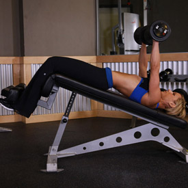 Decline Bench Press Dumbbell