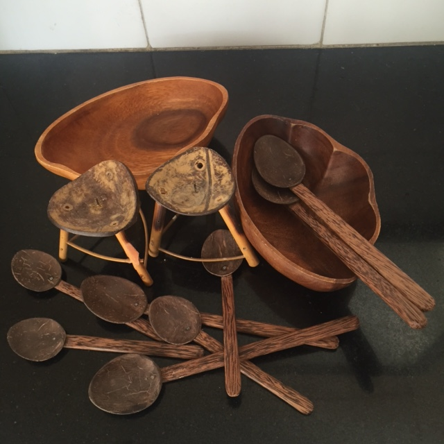 wooden artefacts from Kerala