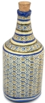 ceramic long neck decorative jar, the sandalwood room