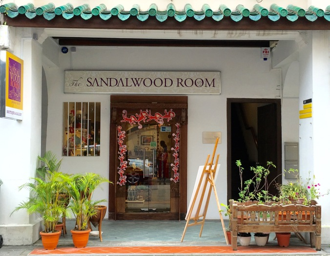 The Sandalwood Room entrance