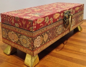 turkish print decorative home decor box, the sandalwood room