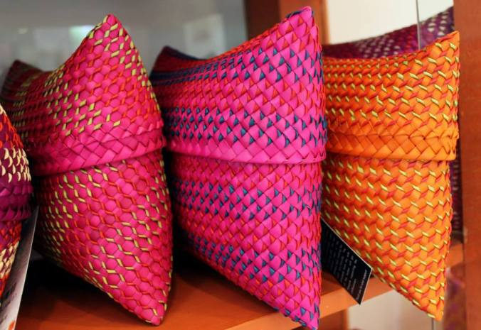 palm leaf kottan gift pouches, the sandalwood room