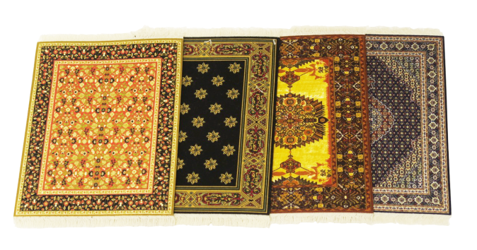 Mouse rugs assorted , the sandalwood room