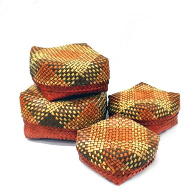 Palm leaf boxes, Kottans, multipurpose
