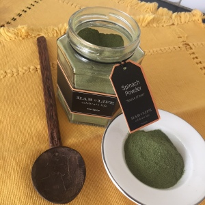 dried spinach powder, my thought lane