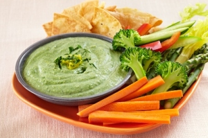 tofu and spinach powder dip, my thought lane