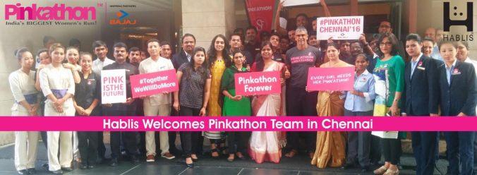 Hablis Pinkathon team
