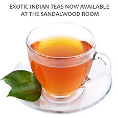 indian teas, the sandalwood room