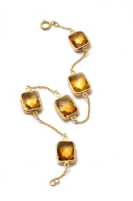 citrine bracelet, the sandalwood room
