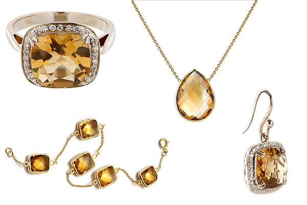 jewellery look bookwith citrine, beer quart gemstones and white diamonds, the sandalwood room