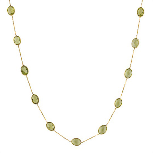 peridot necklace, the sandalwood room