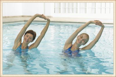 Hydrotherapy stretches
