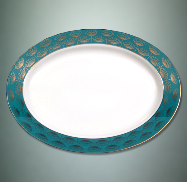 ishika-oval-plate-with-gold-filigree-work, the sandalwood room