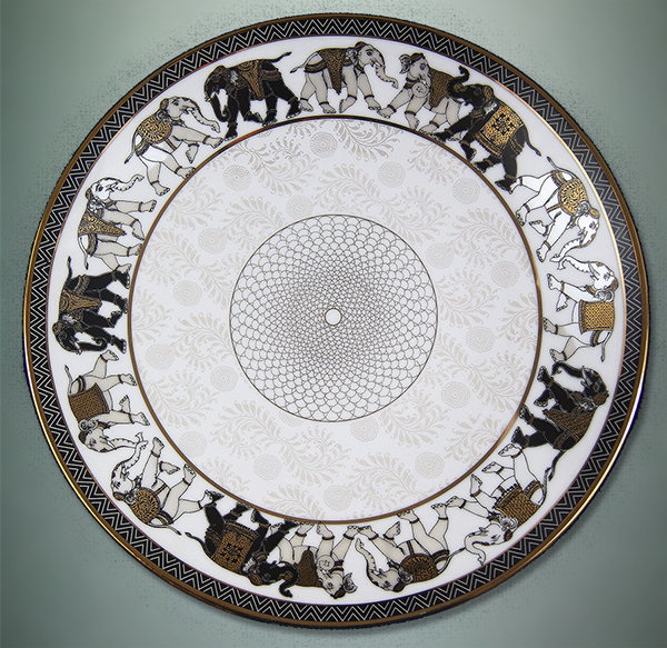 ishika-round-plate-with-animal-motifs, the sandalwood room