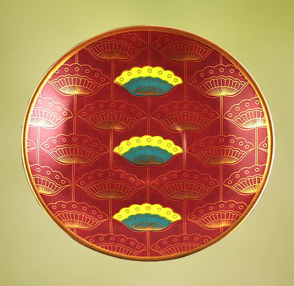 ishika-saucer-with-gold-and-coloured-filigree-work, the sandalwood room