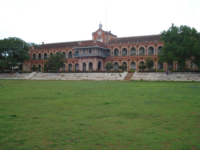 Karnatak college once the railways building, my thought lane