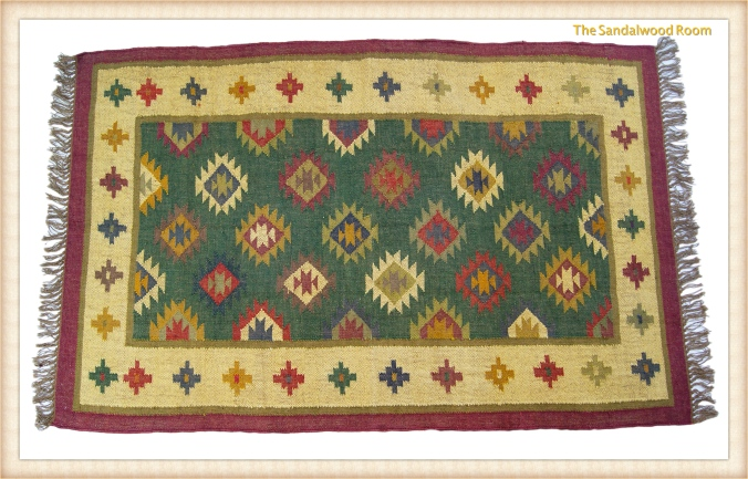 tsr-rug-multicolour_fotor ethnic look hand knotted, the sandalwood room