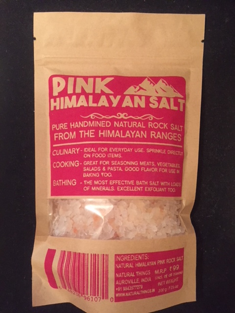 pink himalayan salt crystals from earth story store