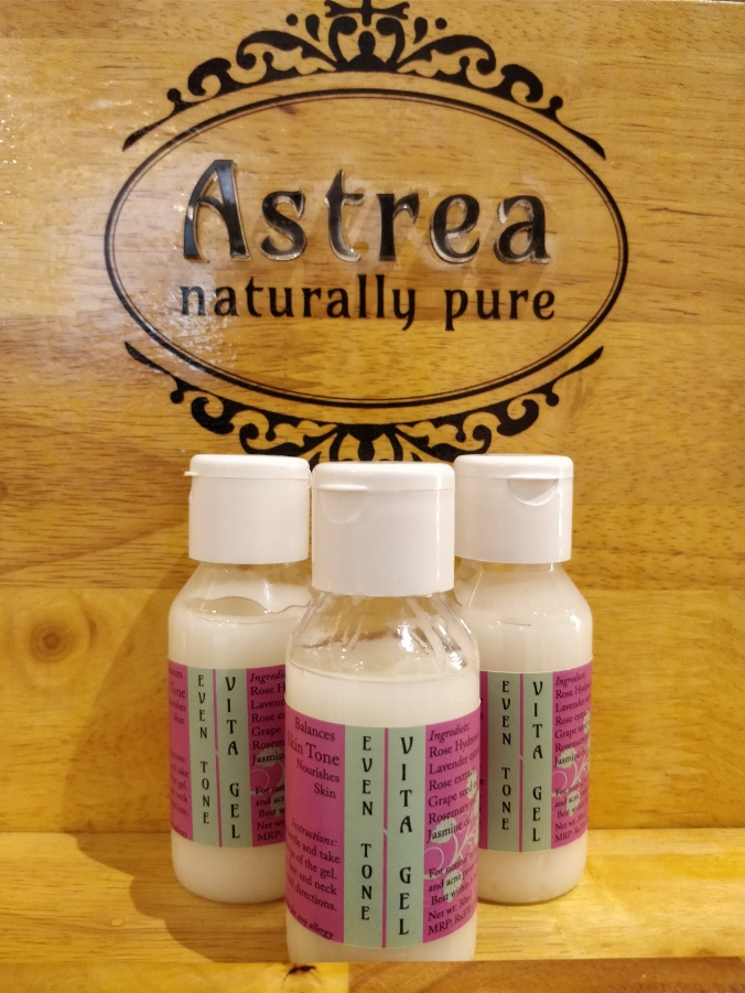 astrea even tone vita gel for oily skin